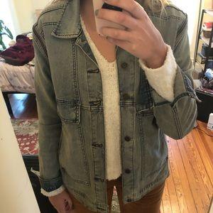 Women's medium Volcom jean jacket